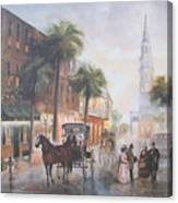 Charleston Somewhere In Time Canvas Print