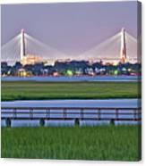 Charleston South Carolina Skyline Canvas Print