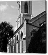 Charleston Unitarian Church Canvas Print