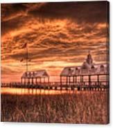 Charleston View Canvas Print