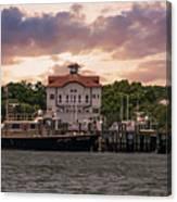 Charleston Wharf Canvas Print