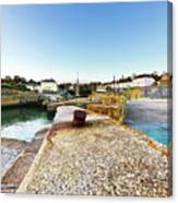 Charlestown From The Sea Wall Canvas Print