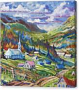 Charlevoix Inspiration Canvas Print