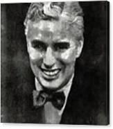 Charlie Chaplin Hollywood Legend Canvas Print