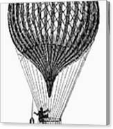 Charli�re Balloon Canvas Print