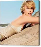 Charlize Theron Canvas Print