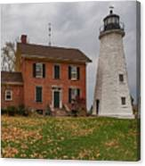 Charlotte-genesee Lighthouse Canvas Print