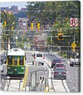 Charlotte Streetcar Line 2 Canvas Print
