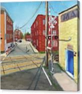 Charlottesville Street Canvas Print