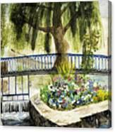 Chartres France Scene Canvas Print
