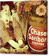 Chase And Sanborn Canvas Print