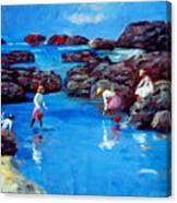 Chase Sea Canvas Print