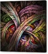 Chasing Colors - Fractal Art Canvas Print