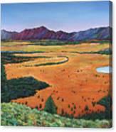 Chasing Heaven Canvas Print