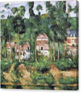 Chateau At Medan, 1880 Canvas Print