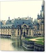 Chateau Chantilly Canvas Print