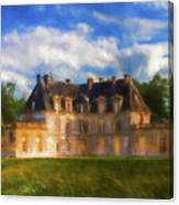 Chateau D'acquigny  Canvas Print