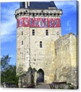 Chateau De Chinon Canvas Print