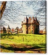 Chateau De Landale Canvas Print