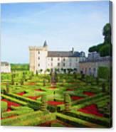 Chateau De Villandry, Loire, France Canvas Print