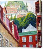 Chateau Frontenac 02 Canvas Print