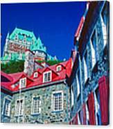 Chateau Frontenac Canvas Print