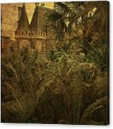 Chateau In The Jungle Canvas Print