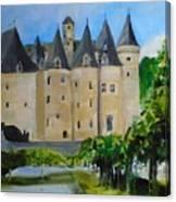 Chateau Jumilhac, France Canvas Print