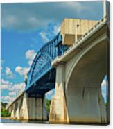 Chattanooga Bridge Canvas Print