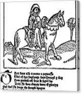 Chaucer: The Prioress Canvas Print