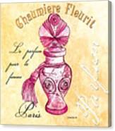 Chaumiere Fleurit Canvas Print
