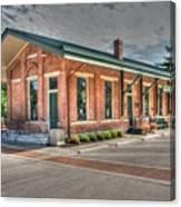 Glendale,ohio Train Depot Canvas Print