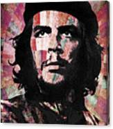 Che Guevara Revolution Red Canvas Print