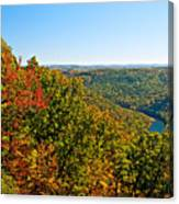 Cheat River Canvas Print