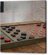 Checkered Past - Checkers Canvas Print