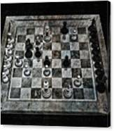 Checkmate In One Move Canvas Print