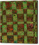 Checkoff Abstract Pattern Canvas Print