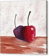 Cheery Cherry Canvas Print