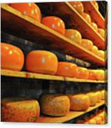 Cheese In Holland Canvas Print