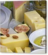 Cheese Plate Canvas Print