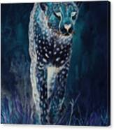 Cheetah Running Canvas Print