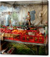 Chef - Vegetable - Jersey Fresh Farmers Market Canvas Print