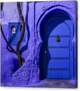 Chefchaouen Hotel Door Canvas Print