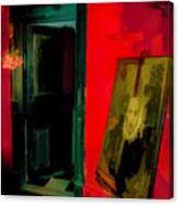Chelsea Hotel Abstract Canvas Print
