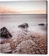 Chemical Beach Tide Canvas Print