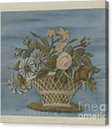 Chenille Embroidery Canvas Print