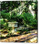 Cherie's Garden Canvas Print