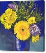 Cheris Flowers Canvas Print