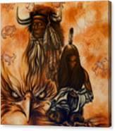Cherokee Mist Canvas Print