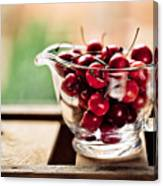 Cherries Canvas Print
